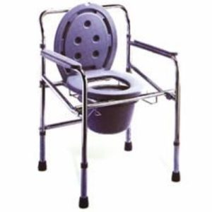 COMMODE CHAIR WITHOUT WHEEL