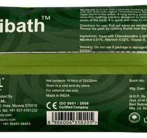 MEDI BATH BODY WIPES