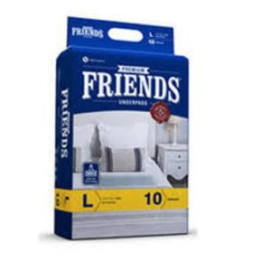 FRIENDS UNDERPADS PREMIUM 10 PCS