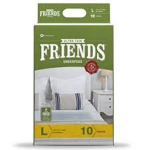 FRIENDS UNDERPADS CLASSIC 10 PCS