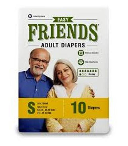 FRIENDS ADULT DIAPERS EASY PACKS 10 PCS SMALL